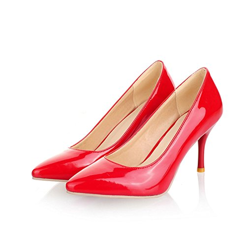 PINZHUANG Wedding Shoes Heel Classic Pumps White Black Beige Nede Thin Red Women Heels gpxfqZwgr