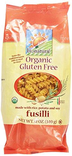 - Bionaturae, Pasta, Fusilli, Gluten Free, Organic, 12 oz