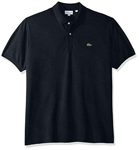 - Lacoste Men's Classic Short Sleeve Chine Pique Polo Shirt, Eclipse Blue, Large