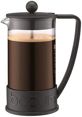 Bodum 1093801 de Brasil prensa francesa 8-cafetera de taza de botón de filtro Sistema de