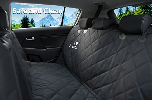 Dog-Seat-Cover-for-Cars-By-Starlings-Heavy-Duty-Waterproof-Hammock-Anti-Dirt-Quilted-Polyester-Non-Slip-Bottom-Seat-Anchors-for-Cars-SUV-Machine-Washable-W-Pet-Car-Seat-Belts-Dog-Toy
