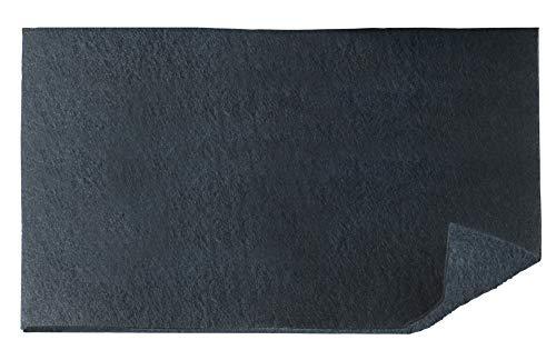 Wenko Filtro de carbon Activo para Campanas extractoras, poliester, Negro, 57 x 47 cm