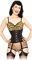 Our Best Selling waist cincher corset is exceptionally versatile and can be worn with a shirt or with a bra, and will pull in the wearer's waist in all the right places. The perfect option for those beginning their waist training journey.BONI...
