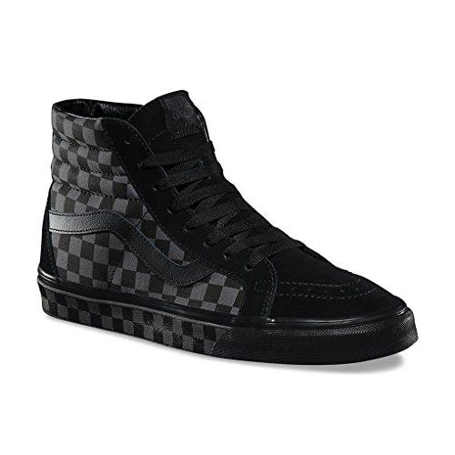 Vans Mens SK8 HI Reissue Checkerboard Black Pewter Size 10