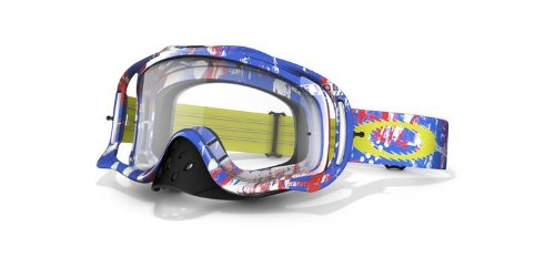 Oakley Crowbar MX Goggles with Clear Lens (One Icon - Lens Icon
