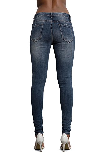 Jeans Donna Lustychic Blue With Pearls Navy SAdxWnCwFq
