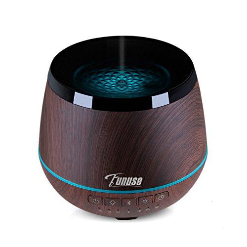 Essential Oil Diffuser with Bluetooth Speaker- FUNUSE Aromat