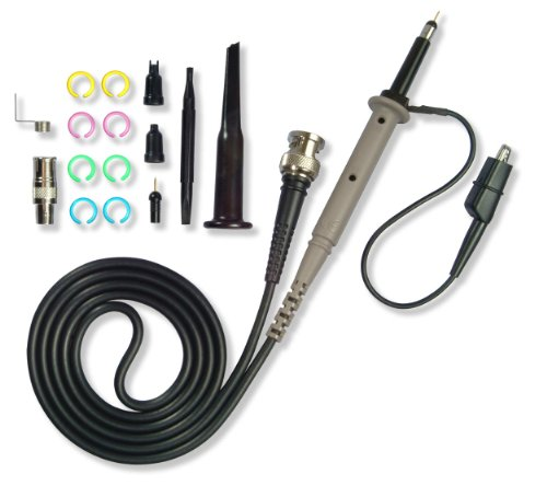 Cal Test Electronics GE2512 Passive Voltage Oscilloscope Probe with 10 Mohm Input Impedance, 190 MHz Bandwidth, 1.8 ns Risetime