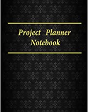 """Project Planner Notebook: Ruled Business Meeting Book for Secretary and Professional Meeting, Record Organize Notes, Ideas, Follow Up,Project Management- 120 Pages (Ruled Format) 8.5"""" x 11"""""""