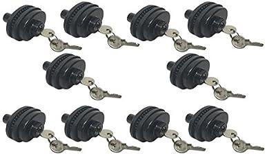 Set of 10 Keyed Alike Trigger Gun Locks Safety Universal Firearms Pistol Shotgun