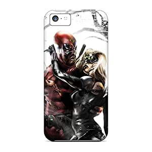 Premium Deadpool I4 Back Cover Snap On Case For Iphone 5c