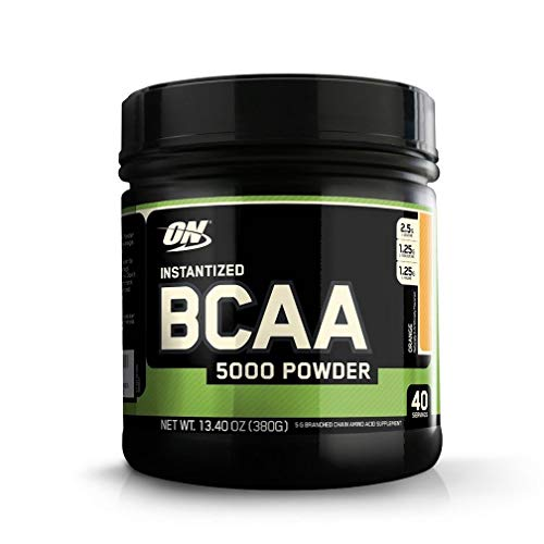 OPTIMUM NUTRITION Instantized BCAA Powder, Keto Friendly Branched Chain Essential Amino Acids, 5000mg, Orange, 40 Servings
