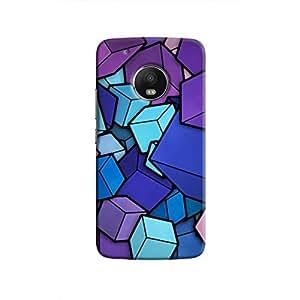 Cover It Up - Cube Heap Moto G5 PlusHard Case