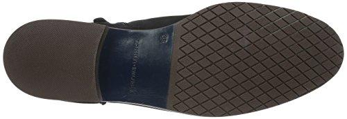 Tommy Hilfiger B1285erry 8n, Zapatillas de Estar por Casa para Mujer Azul - Blau (Midnight 403)