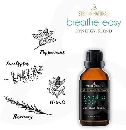 Stellar Naturals Breathe Easy Essential Oil Blend