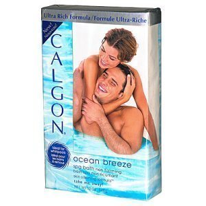 Ocean Breeze Spa (Calgon Moisturizing Spa Bath - Ocean Breeze: 12 OZ)