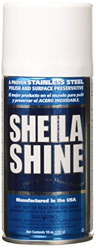 Sheila Shine Stainless Steel Cleaner - SHE1EA - Sheila Shine Stainless Steel Cleaner amp;amp; Polish (Pack of 3)