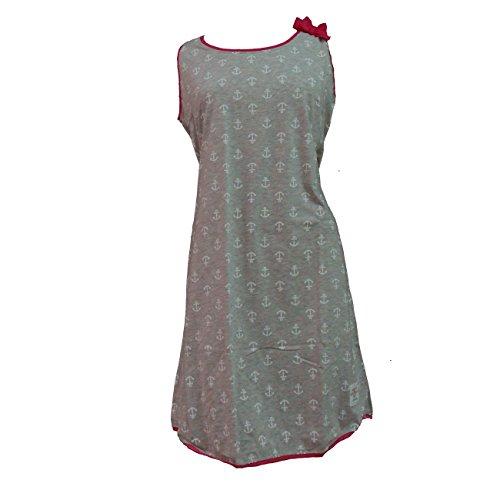 noi Grigio cotone camicia in 1795 di spalla notte abitino art larga gWFPgqrRw
