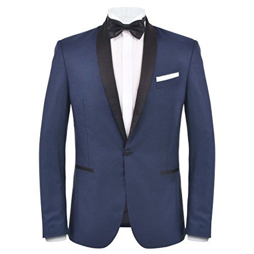 matrimonio Festnight Marino abiti Da rosso Uomo Cerimonia 50 46 vestito Taglia A Per Borgogna bianco Tessuto 48 In Marino 54 52 Smoking Blu Pz 2 56 rxwr84q