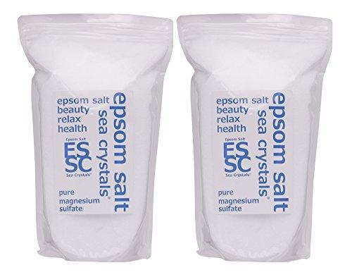 C 크리스탈 국산 《에푸소무소루토》 (유산 마그네슘) 입욕 제 8㎏ (4kgX2) 목욕용 화장품 계량 스푼부 무향료
