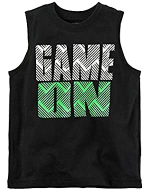 Carter's Baby Boys' Game On Muscle Tee