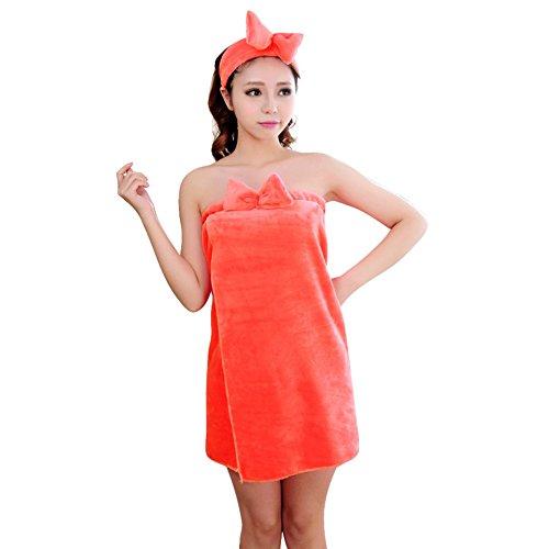 Bain 96cm rouge Polaire robe tp L Chambre De Rose Unique Homme femme Peignoirs 68cm taille ASw57qq