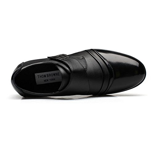 Hook Sunny fodera Dimensione amp;Baby Fit uomo Resistente Oxford EU Nero da Giubbotto pelle Business vera in Low traspirante con Scarpe amp; all'abrasione Color LoopStrap 38 Nero r8qBFar