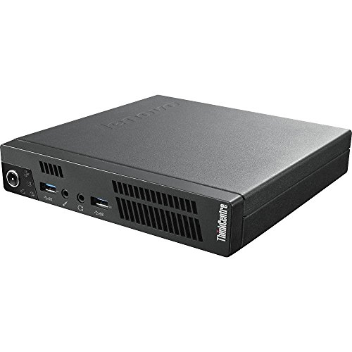 LENOVO ThinkCentre M92P USFF Tiny Ultra Small Form Factor High Performance Business Desktop PC, Intel i5-3470T Up to 3.6GHz, 4GB DDR3, 320GB HDD, DVD, WIFI, Windows 10 Pro (Certified Refurbished) by Lenovo