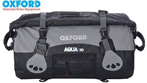 Oxford Marke neue Aqua Wasserdicht 50Liter Dry Gepäck mit Roll Top Alle Wetter für Motorrad Verwenden