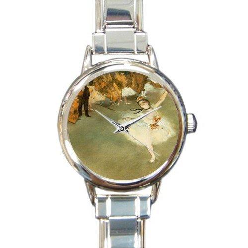 Birthday Day Novelty Gifts Prima Ballerina By Edgar Degas Women's Italian Charm Watch