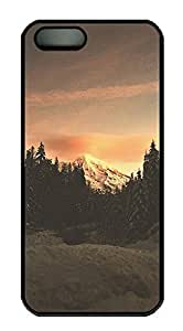 Case For Iphone 6 4.7 Inch Cover landscapes nature snow mountain 35 PC Custom Case For Iphone 6 4.7 Inch Cover Cover Black WANGJING JINDA