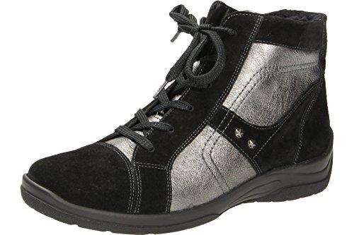 Womens Hesna Noir Suede Boots 312801 Waldlaufer pdxzqwfd