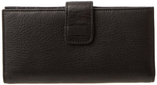 Tusk Donington Gold Slim Clutch Wallet CD-455 Wallet,Black,One (Tusk Apparel)