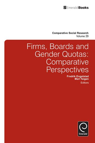 Download Firms, Boards and Gender Quotas: 29 (Comparative Social Research) Pdf