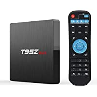 Android TV Box,Kingbox T95Z Max Android 7.1 Smart TV Box 3GB+32GB Amlogic S912 Octa-core cortex-A53 2.4/5G Wi-Fi H.265 3D 4K Bluetooth Smart TV Box