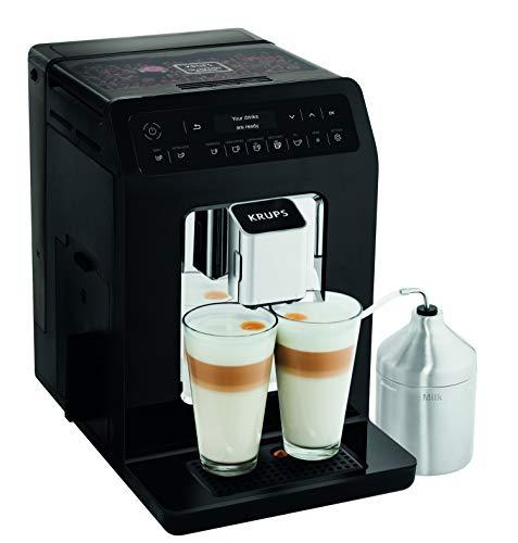 Krups Evidence Espresso EA8918 – Cafetera Superautomática 15 Bares, 15 Preajustes, Niveles de Intensidad, Molido Grano…