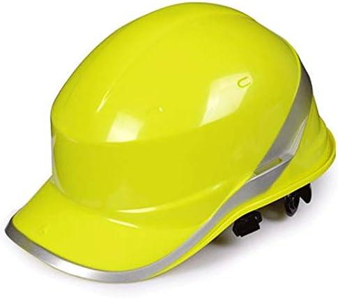 建設用ヘルメット - 夏用通気性ヘルメット、空中作業、エンジニアリングおよび建設 (Color : C)