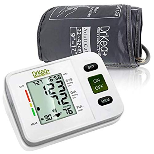 Blood Pressure Monitor Upper Arm – Fully Automatic Blood Pressure Machine Large Cuff Kit – Digital BP Monitor for Adult…