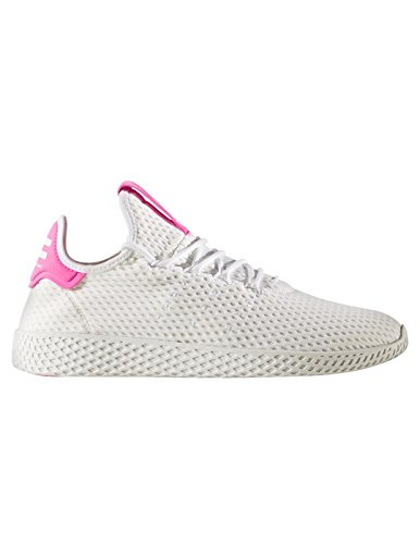 adidas Originals PW Tennis HU Mens Trainers Sneakers (UK 5 US 5.5 EU 38, White Pink BY8714)
