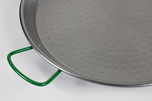 Paderno World Cuisine Polished Carbon Steel Paella Pan, 18.5'' by Paderno World Cuisine (Image #3)