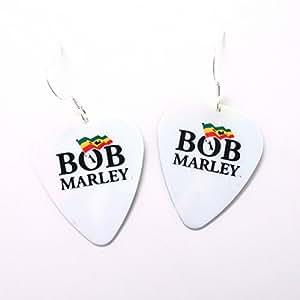 Bob Marley pendientes selección de la guitarra Punk Rock Reggae Jamaica RASTI