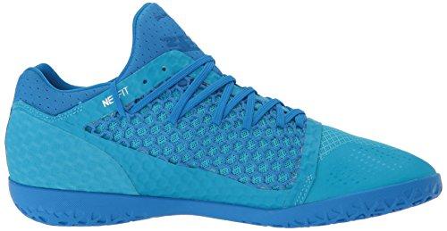 PUMA Herren 365 Netfit CT Fußballschuh Electric Blue Limonade-Puma Weiß-Hawaii-Ozean