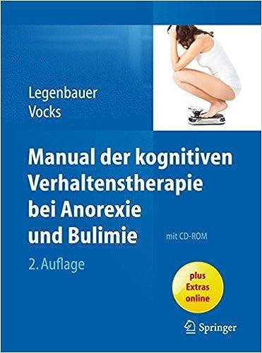Manual der kognitiven Verhaltenstherapie bei Anorexie und Bulimie ...
