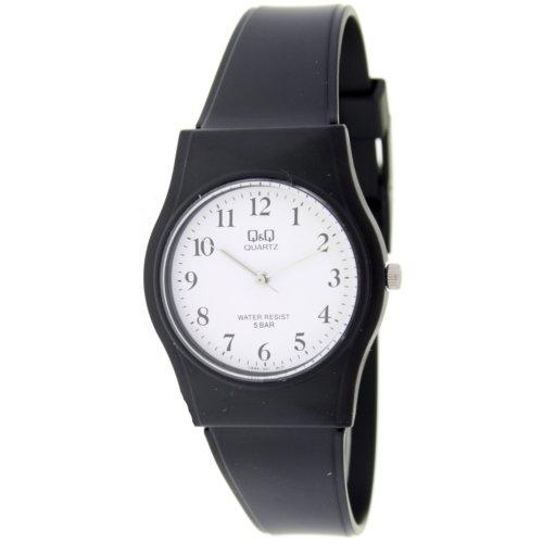 Reloj analógico Q&Q Unisex (Señora/Cadete) - Esfera blanca - Números negros -
