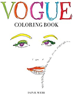 vogue coloring book - Fashion Coloring Books