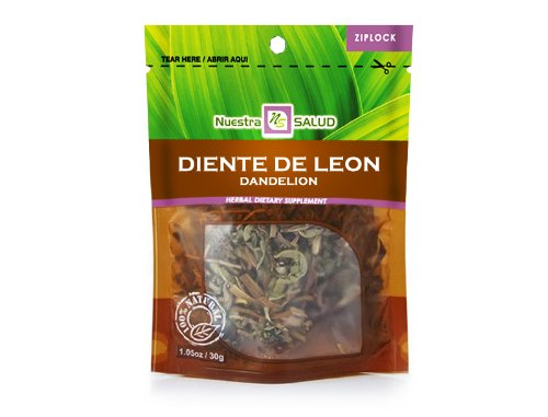 Diente De Leon – Dandelion Herbal Tea 3 Pack 1.05oz each by Nuestra Salud