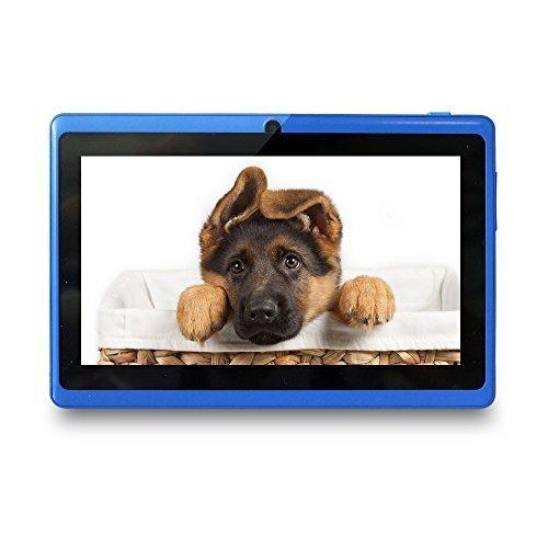Yuntab Google Android 7 inch Tablet PC Wifi 8GB Ram Z88 Allwinner A33 Quad-core 2200mAh Dual Cameras Pad (Blue)