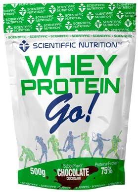 Whey Protein GO! 500g Chocolate: Amazon.es: Salud y cuidado ...