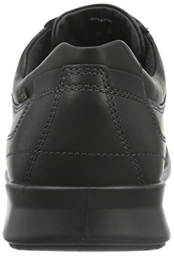 ECCO Howell, Sneakers Uomo, Nero (BLACK01001), 49 EU