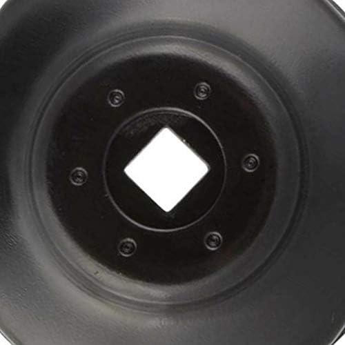 76 mm Lopbinte Llave de tubo para filtro de aceite de coche con llave de vaso de 3//8 pulgadas 14 flautas